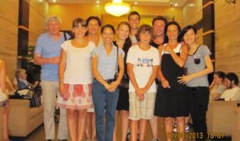 Groupe de Mr Gilberte DEPLANTES - 8 personnes