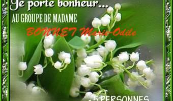 Groupe de Madame BONNET Marie-Odile - 5 personnes