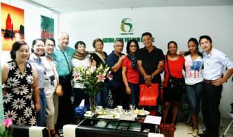 Groupe de Madame Claudine et Danny CHAN OU TEUNG - 9 personnes