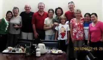La famille de Monsieur Serge PAWLIKOWSKI - 8 personnes