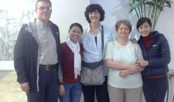Groupe de Madame Joanne, Moncef, Danielle et Najib