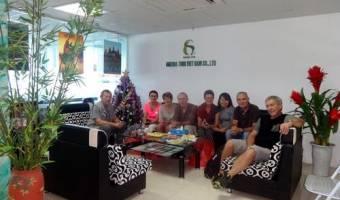 Groupe de Mr Bernard Fontova - 17 personnes