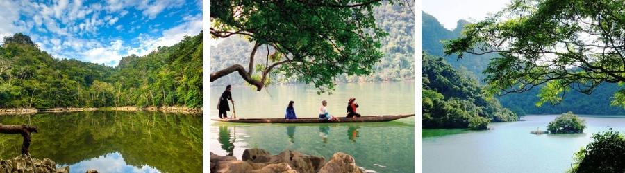 Visite lac de Babe