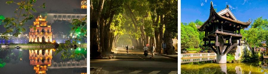 Visite ville de Hanoi