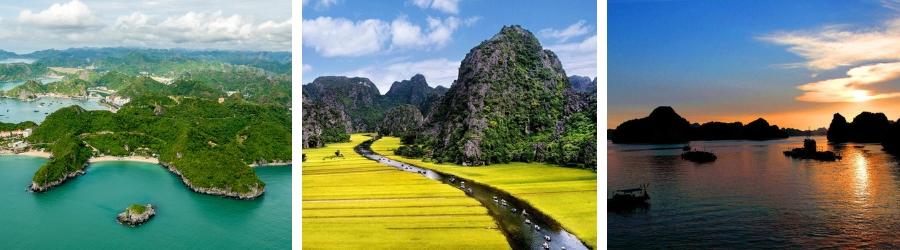 Voyage à la Baie d'Halong à Quang Ninh