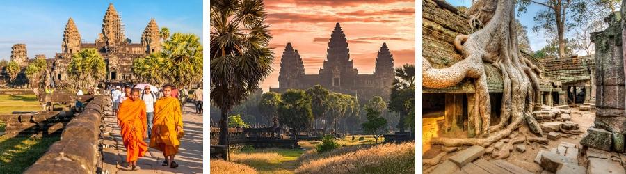 Circuit à Siem Riep au Cambodge