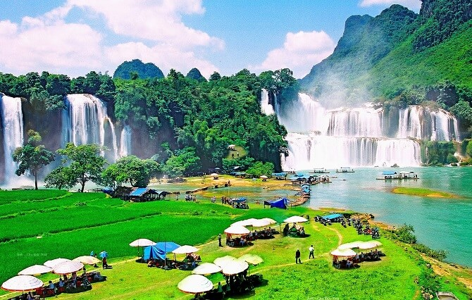 Ville de Cao Bang