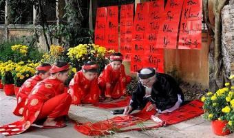 Fête du Têt ou Nouvel An lunaire au Vietnam en 2019